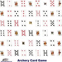 "Infinity Target 18""x18"" Card Game Face"