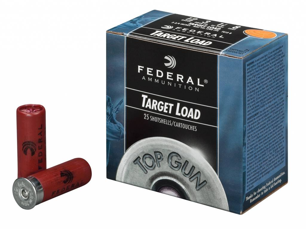 Federal Federal Top Gun Target Loads (25 Rounds)