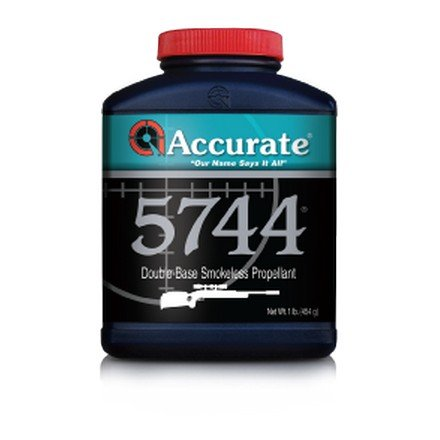 Western Powders Accurate 5744 Double-Base Smokeless Propellant 1lb
