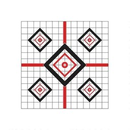 "Pro-Shot Products Pro-Shot Precision Sight-In Target 16""x16"" (10-Pack)"