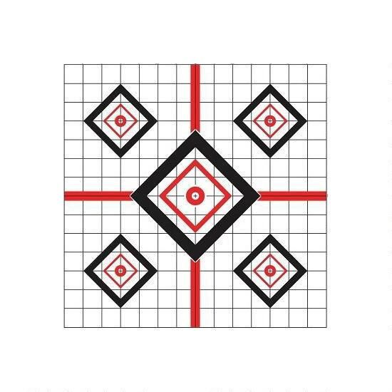 """Pro Shot Products Pro-Shot Precision Sight-In Target 16""""x16"""" (10-Pack)"""