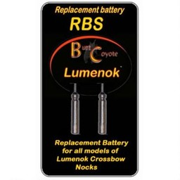 Burt Coyote Burt Coyote Lumenok Replacement Batteries (2-Pack)