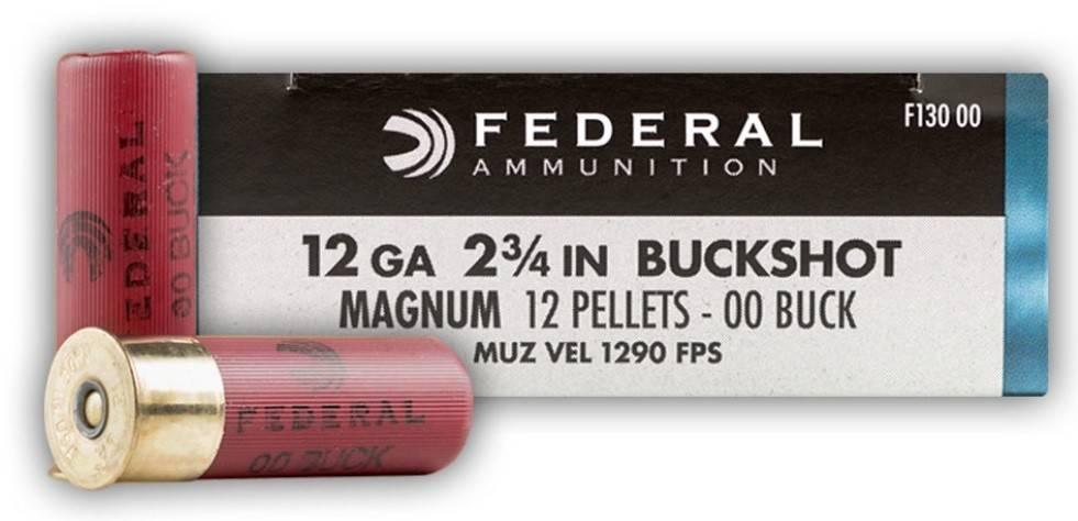 Federal Federal Power-Shok Buckshot Maximum Shotgun Shells
