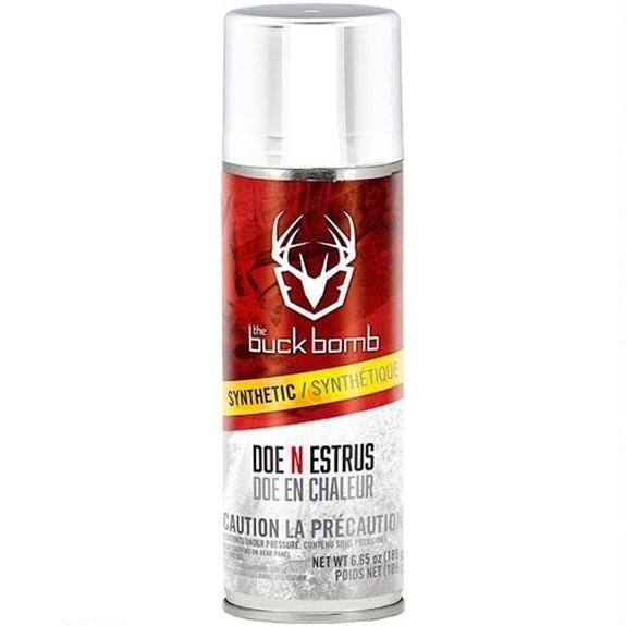 Buck Bomb Synthetic Doe-N-Estrus 6.5oz. Aerosol Can