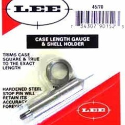 Lee Case Length Gauge and Shell Holder .45-70 Government