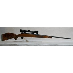 Weatherby CG-0008 USED Weatherby Mark V Left Hand Rifle MFG in Germany .270 Wby. Mag. w/ Redfield 4x Frontier Scope (excellent condition)