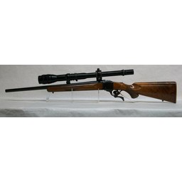CG-0015 USED Ruger No. 1 Single Shot Rifle .22-250 Rem. w/ Bausch and Lomb 6-24x Target Scope (very good condition w/ a very hard to find scope!)