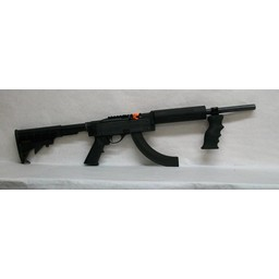 Remington UG-12303 USED Remington 597 VTR .22LR Semi-Auto Tactical Rifle w/ Case. Includes a 30-Round Magazine and a Tactical Front Foregrip