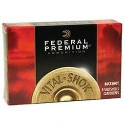 "Federal Premium Federal Premium 12 Gauge 2 3/4"" Shot #00 Buckshot 1290FPS (5-Rounds)"