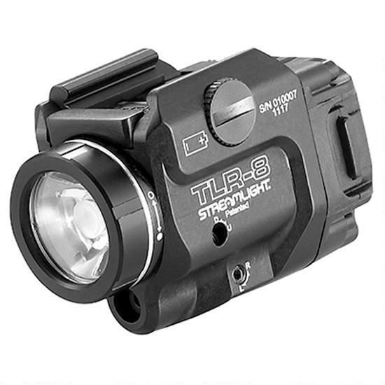 Streamlight TLR-8 500 Lumens Low Profile Tactical Light With Red Laser