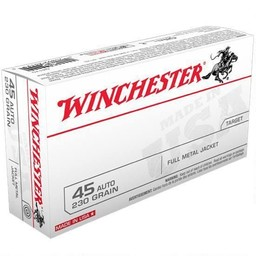 Winchester Winchester .45 ACP 230 Grain Full Metal Jacket (50-Rounds)
