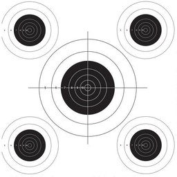 Lyman Lyman Auto Advanced Replacement Target Roll Bullseye Target 50' Roll