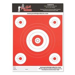 "Pro Shot Products Pro-Shot Orange Glow Paper Target 8.5""x11"" (12-Pack)"
