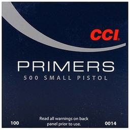 CCI CCI Small Pistol Primers No. 500