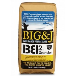 Big & J Long Range Attractants BB2 Feed/Attractant (20 Pound Bag)