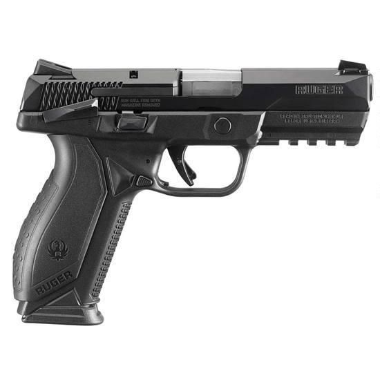 "Ruger American .45 ACP 4.5"" Barrel Black Finish Manual Safety"