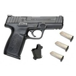 "Smith and Wesson SD9 9mm 4.25"" Barrel Black Cerakote Slide"