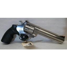 "UHG 6442 USED Alfa Proj 9261 Stainless 9mm 6-Shot Revolve 6"" Barrel"