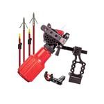 Cajun Winch Pro Bowfishing Package Reel Rest 2 Arrows