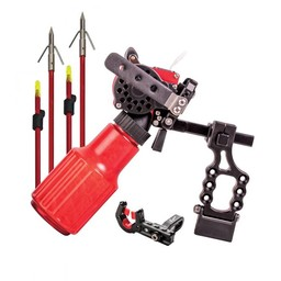Cajun Winch Pro Bowfishing Package Reel Rest 2 Arrows