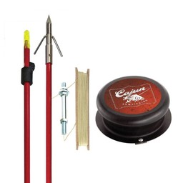 Cajun Piranha Bowfishing Kit 1 Arrow and Spool
