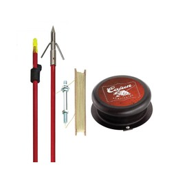 Cajun Piranha Bowfishing Kit 1 Arrow and Spool