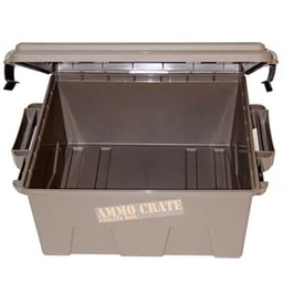 "MTM Ammo Crate 7.25"" Tall Dark Earth"