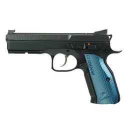 "CZ Shadow 2 Optic Ready 9mm Blue Grips 4.7"" Barrel 3 Magazines"