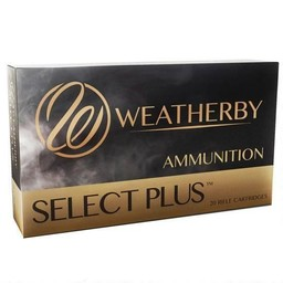 Weatherby Weatherby Select Plus .270 Wby. Mag. 150 Grain Nosler Partition (20-Rounds)
