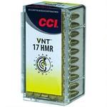 CCI .17 HMR VNT 17 Grain Polymer Tip 2650FPS (50-Rounds)