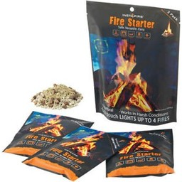 InstaFire InstaFire Fire Starter 3-Pack Starts Up To 12 Fires
