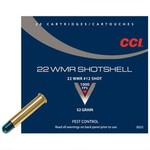 CCI Shotshell 22 WMR #12 Shot 52 Grain Pest Control