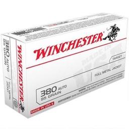 Winchester Winchester 380 Auto 95 Grain FMJ (50-Count)