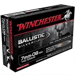 Winchester Winchester Ballistic Silvertip 7mm-08 Rem 140 Grain (20 Rounds)