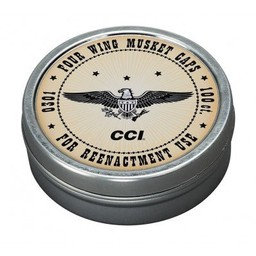 CCI CCI Four Wing Musket Caps (100-Count)