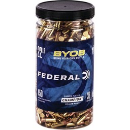 Federal Federal BYOB .22LR 36 Grain Hollow Point (450-Rounds)