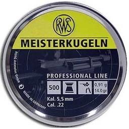RWS Meisterkugeln .177 Cal. Pellets 8.2 Grain (500-Pack)