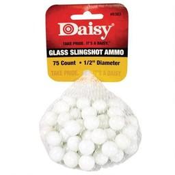"Daisy 1/2"" Glass Slingshot Ammo (75 Count)"
