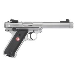 Ruger Mark IV .22LR Stainless Semi-Auto Pistol 5.5'' Target Barrel