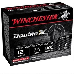"Winchester Winchester Double X 12 Gauge 3 1/2"" #6 Shot 1300FPS (10-Rounds)"