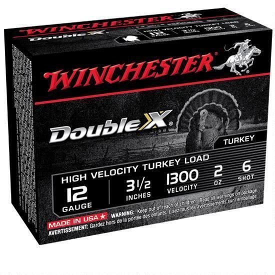 """Winchester Double X 12 Gauge 3 1/2"""" #6 Shot 1300FPS (10-Rounds)"""