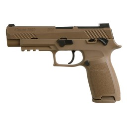 "Sig Sauer P320 M17 4.7"" Barrel Coyote Brown Finish w/ 2 Magazines"