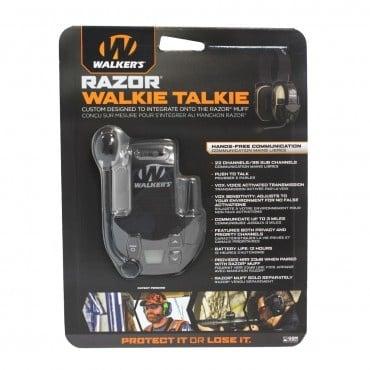 Walkers Walker's Razor Walkie Talkie 22 Channel (Integrates With Razor Muffs)