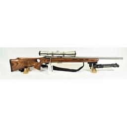 Savage Arms UG-12702 USED Savage 93R17 .17HMR Laminate Thumb Hole Stock and Burris Fullfield 3-9x40