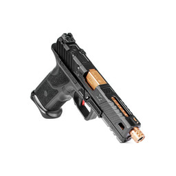 Zev Tech Zev Tech OZ9 9mm Standard Black Slide Bronze Barrel Threaded