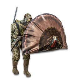 Primos Double Bull Turkey Decoy With Surroundview Blind