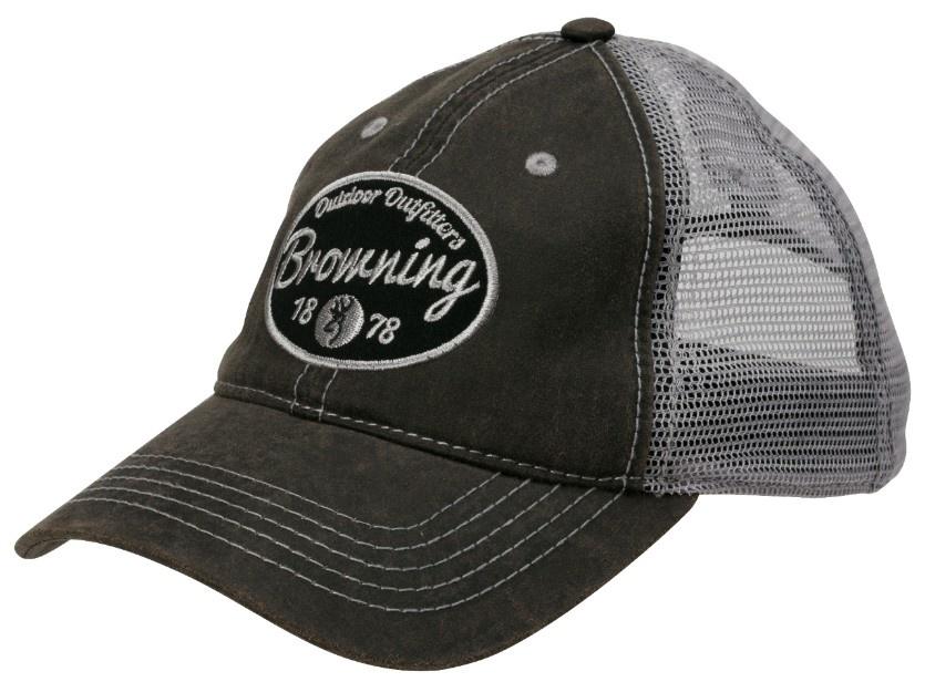 Browning Browning Folsum Charcoal Mesh Back Cap
