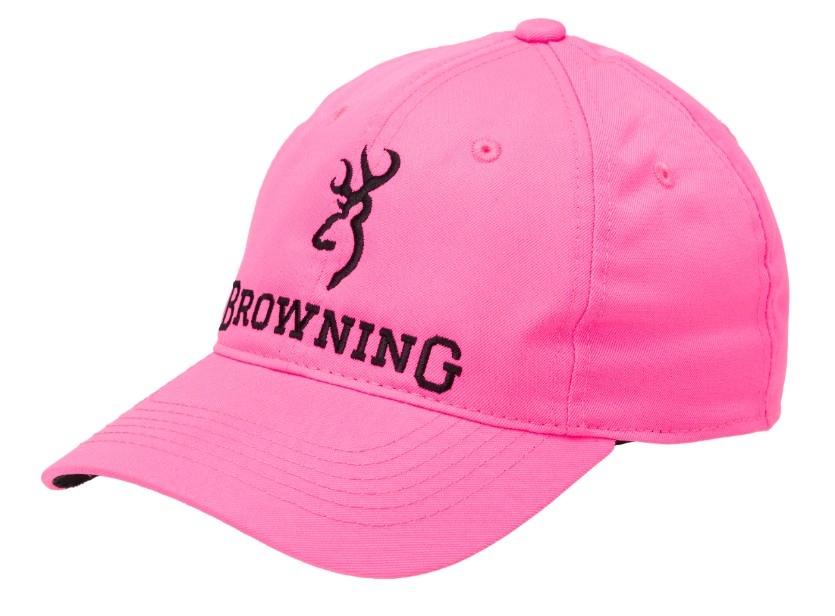 60bdc0c0cf0dc0 Browning Blaze Pink Cap - Triggers and Bows