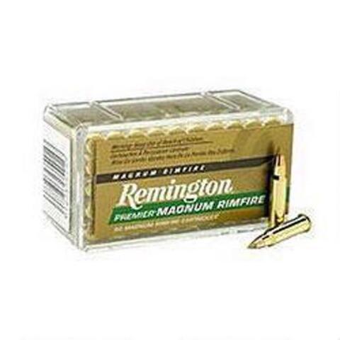 Remington Remington Premier Magnum Rimfire 17 HMR 17 Grain AccuTip-V Boat Tail (50-Count)
