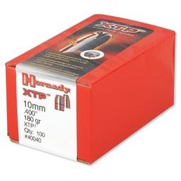 """Hornady Hornady .400"""" Diameter 10mm 180 Grain Projectiles (100-Count)"""